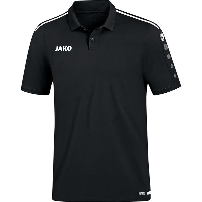 JAKO Polo Striker 2.0 noir-blanc
