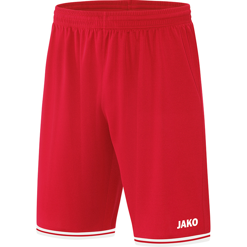 JAKO Short Center 2.0 rood-wit 4450/01