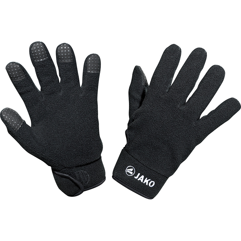 Fleece handschoenen zwart (1232/08)