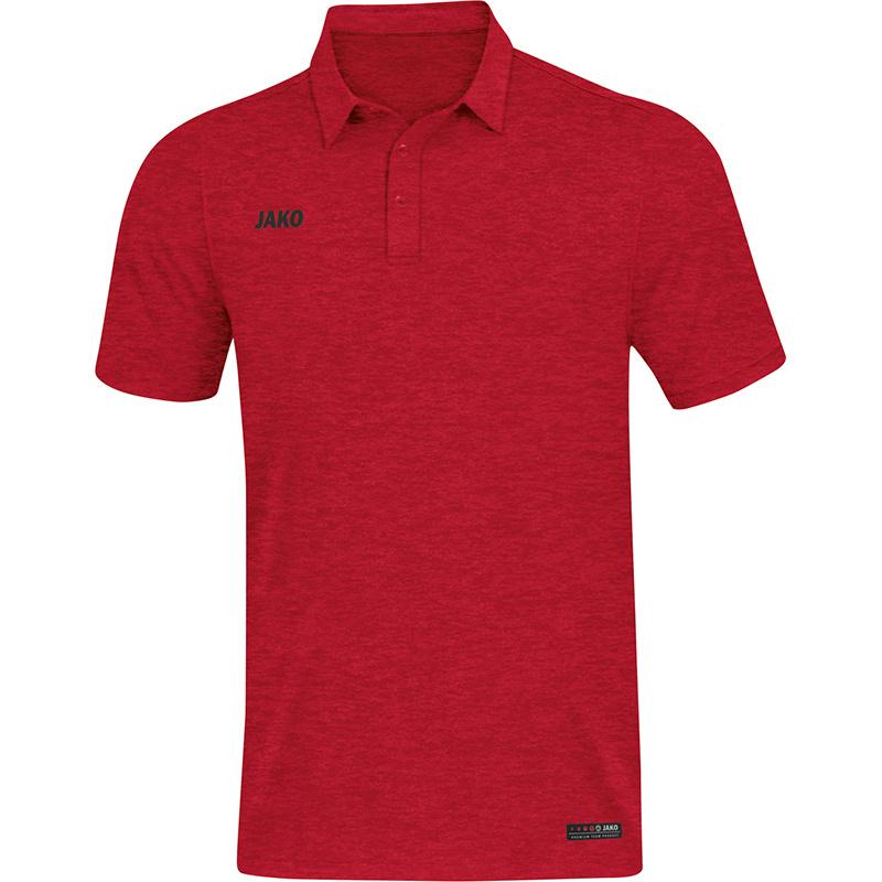 JAKO Polo Premium Basics rouge 6329/01