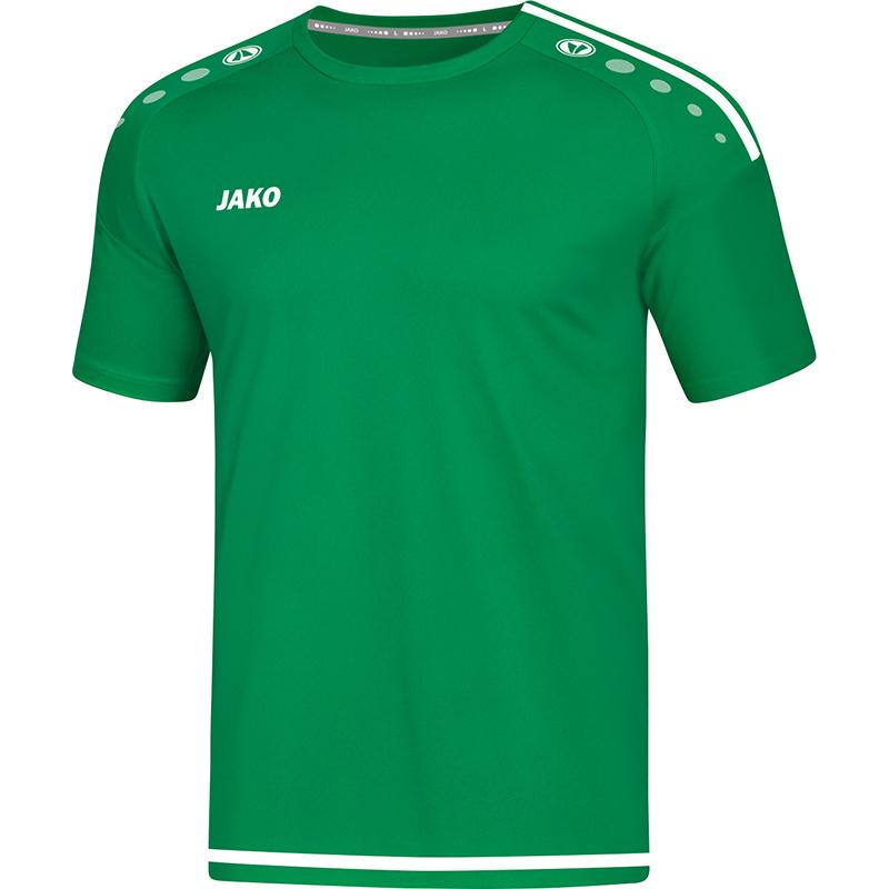 JAKO T-shirt Striker 2.0 sportgroen-wit 4219/06