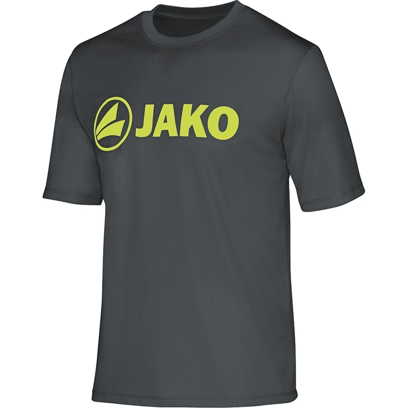 JAKO  Functional shirt Promo antraciet-lime 6164/21