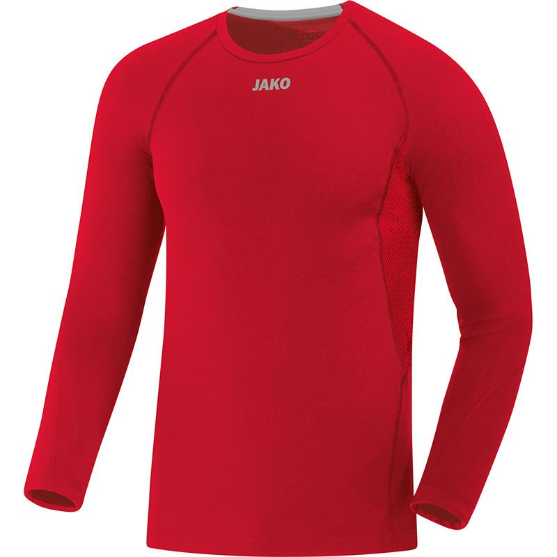 JAKO Shirt Compression 2.0 LM rood 6451/01