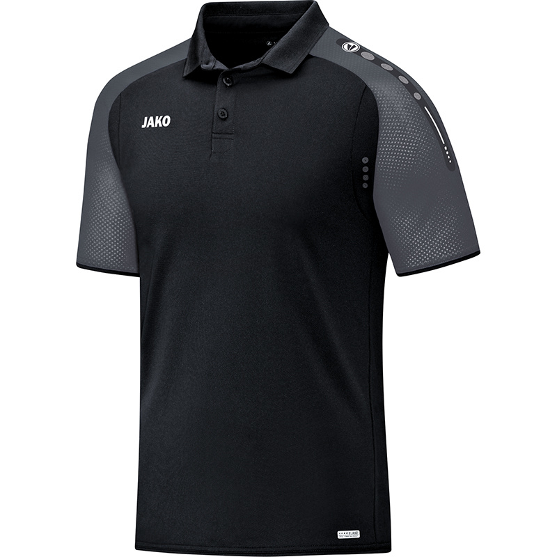 JAKO Polo Champ noir-anthracite 6317/21