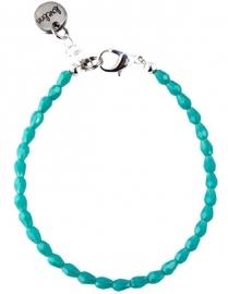 Drop facet turquoise