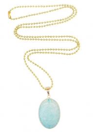 Light blue gemstone