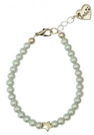 Silver pearl star