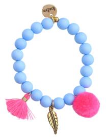 Ibiza blue/neon pink