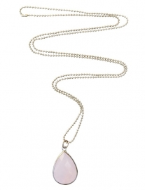 Crystal pink necklace