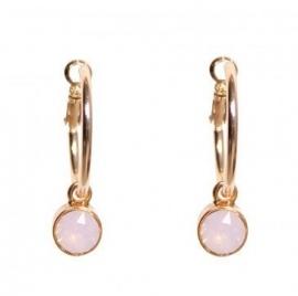 Swarovski creool rose water opal