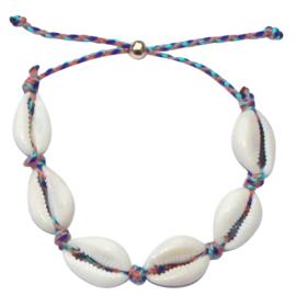 Sea shell festival anklet & bracelet