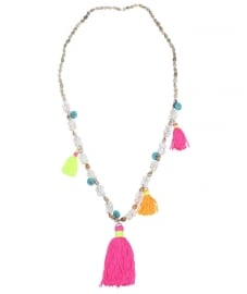 Ibiza necklace multicolor