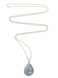 Crystal grey necklace