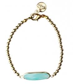 Crystal aqua blue