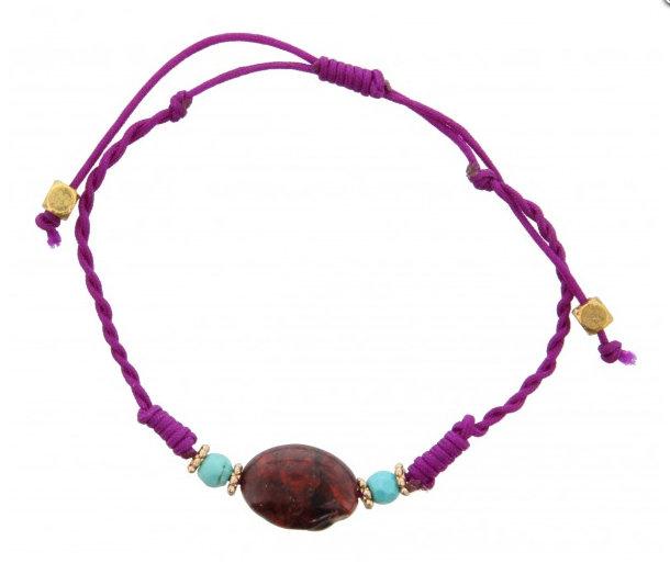 Purple stone