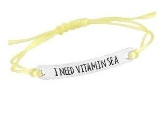 I need vitamin sea - yellow/silver
