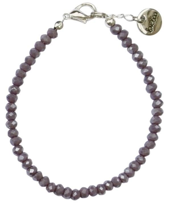 Metallic purple facet