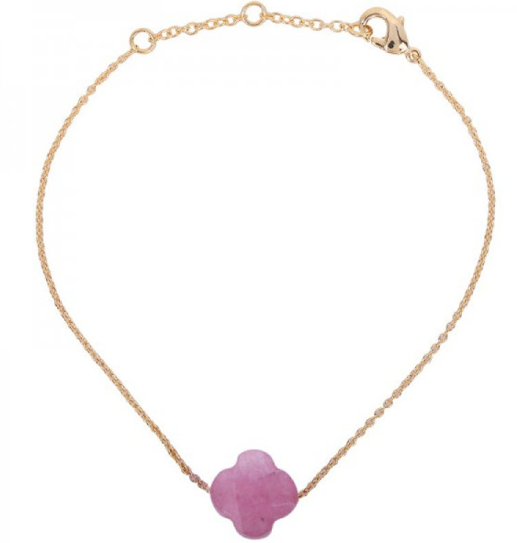 Clover stone pink