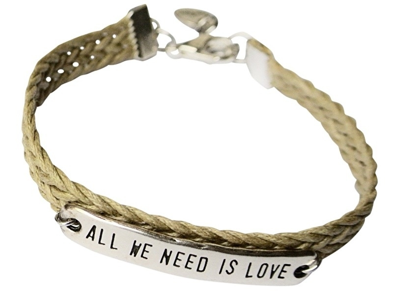 All we need is love silver