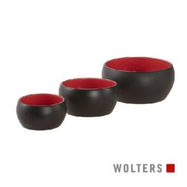 Diner Colour  zwart/rood