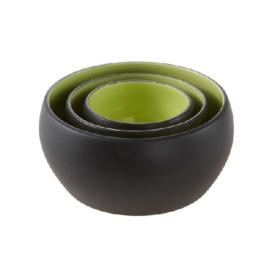Diner Colour  zwart/lime