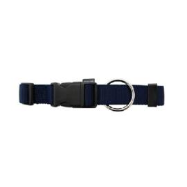Halsband Basic marine blauw