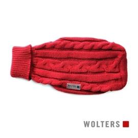 Kabeltrui rood / maat 20 - 35 cm