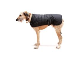 Hondenregenjas zwart