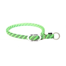 Sliphalsband Everest  Reflecterend  lime / zwart