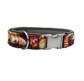 Halsband Gobelin - Leer Outback Verstelbaar