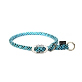 Sliphalsband Everest  Reflecterend  aqua / zwart