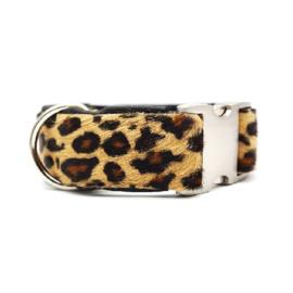 Halsband Koevacht Luipaardprint
