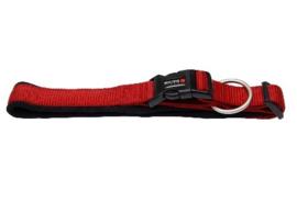 Professional Comfort Klikhalsband  rood/zwart