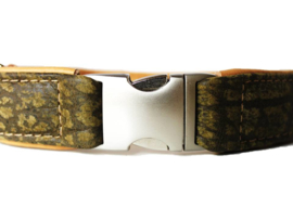 Halsband Olijf  Verstelbaar