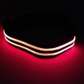 Nylon met LED