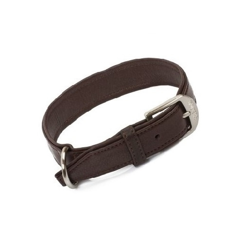 Terravita Platte Halsband kastanje