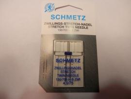 Schmetz stretch tweelingnaald 4.0