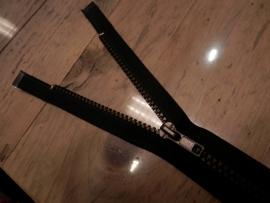 Blokrits deelbaar, 35cm, zwart met koper