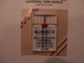 Schmetz universele tweelingnaald 4.0