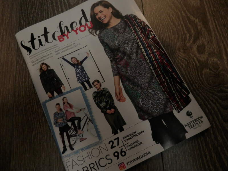 UITVERKOCHT Stitched By You HerfstWinter 2018