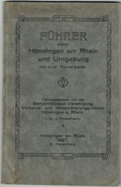Führer durch Hönningen am Rhein und Umgebung 1927