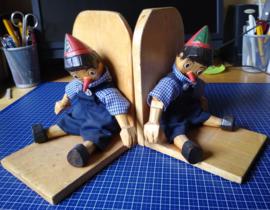 Set boekensteunen Pinokkio