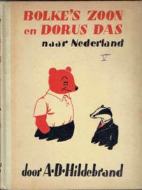 Bolke's  zoon met Dorus Das naar  Nederland;  A.D. Hildebrand