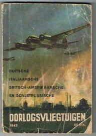 Duitsche, Italiaansche, Britsch-Amerikaanse en Sovjetrussische oorlogsvliegtuigen, Stand zomer 1943