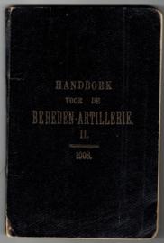 Handboek voor de Bereden Artillerie II