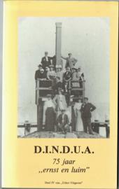 "D.I.N.D.U.A. 75 jaar ""ernst en luim"" - Redactie"