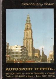 Sietsma J.W - Autosport Tepper, catalogus 5 1984/85