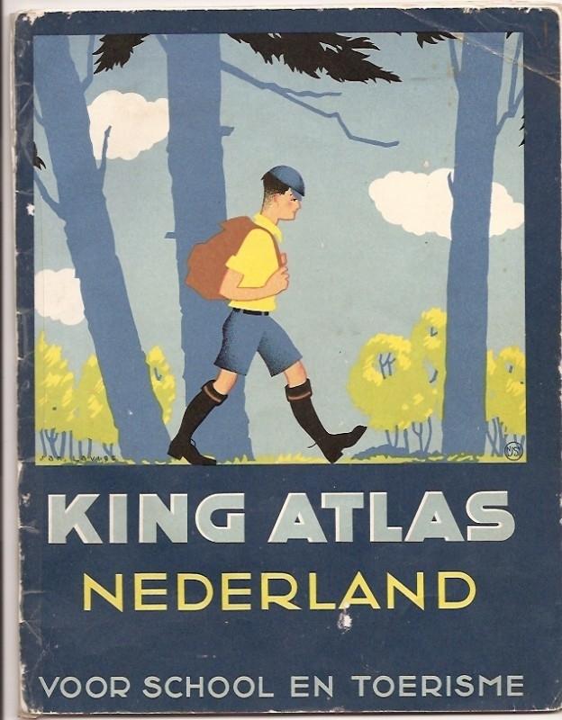 King Atlas Nederland voor school en toerisme