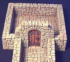 TAB098 - Fieldstone Wooden Door Section