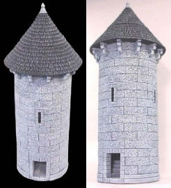 TAB188 - Gothic Conical Circular Tower
